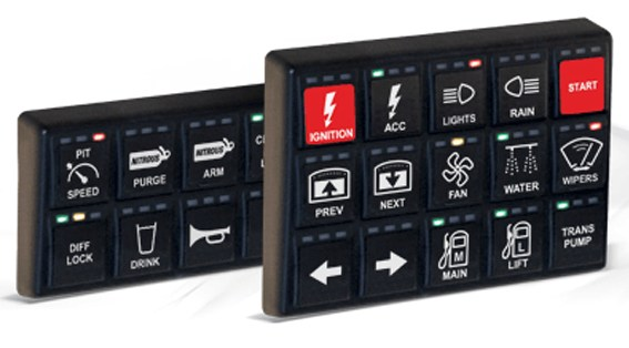 keypads for Vehicle Management Systems